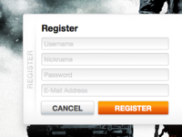 BFBC2 Server Manager - Registration