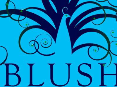 Blush Bleu Logo Design identity design logo design