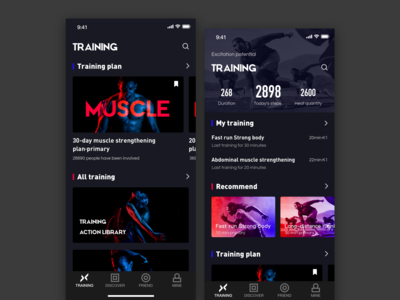 Fitness exercise application_1