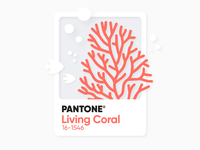 // Living Coral //