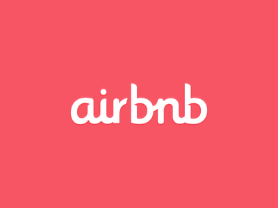 Airbnb airbnb logo branding logotype colors typography