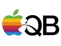 Apple Store Quaker Bridge logo