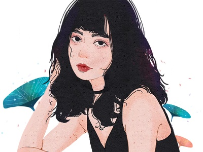 Hi  Girl illustrator