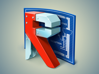 Windows Application icon for Rapid Resizer