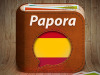 iOS App icon for Papora App