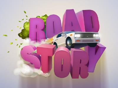 RoadStory Logo logo logotype game ios game logo cer