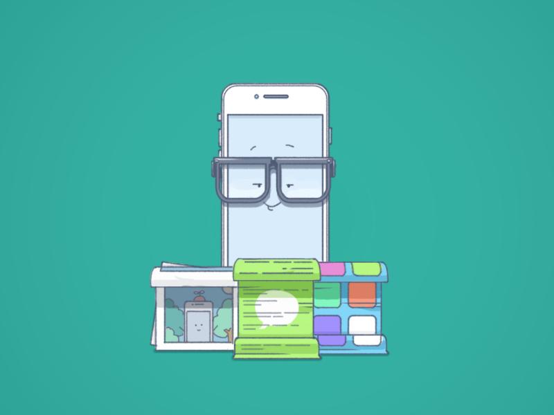 Start image - Monitor your kids image dropbox style icon sketch flat