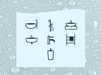 7 simple icons