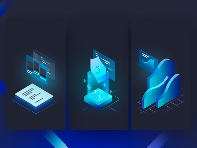 QA services illustrations analytics services testing functionality load webdesign web blue graphicdesign illustrator technology qa design illustration