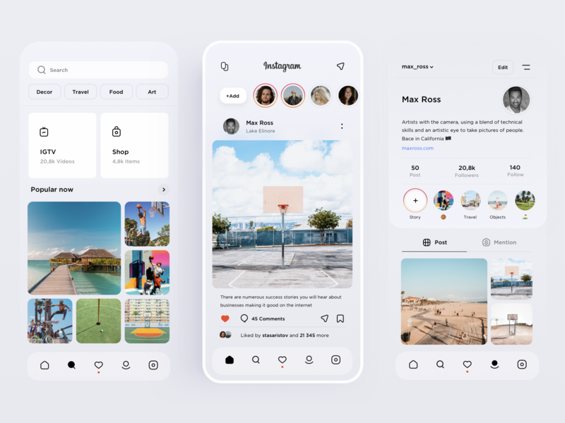 Instagram Lite Redesign