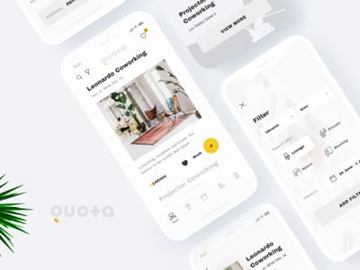 Quota / Coworking App