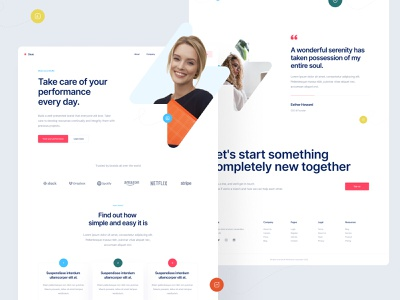 Zeus - UI Library development blocks components frontend ui library website product design product page ux simple clean landing page landing ui library