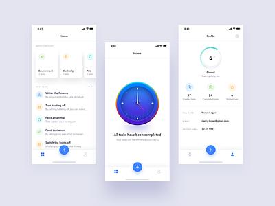 Did You mobile app illustration tasks to do ux ui
