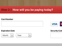 How will you be paying today?