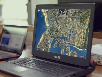 GTA 5 Interactive Map php html5 design gta5 map gaming