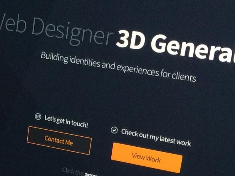 Gettin' Crafty! clean interface landing minimal ui web home page web development web design craft cms