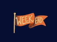 Weekend Flag