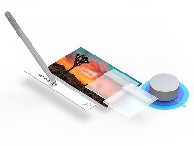 Fluent Design System windows cinema4d 3d fluent microsoft