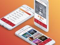 KTRM 88.7 Radio Concept App