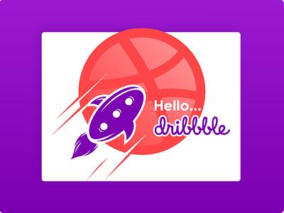 Hello Dribbble – My name is Cak Adib logo design brand design branding icon design logo