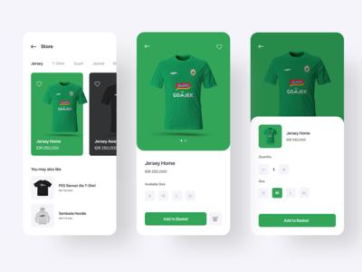 PSS Sleman store app concept
