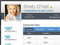 Customer data 1