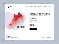 Shoe Cart Page Design