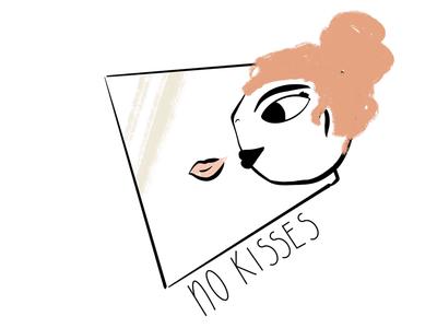 No more kisses digitalillustration instruction virus editorial epidemic illustrator illustration