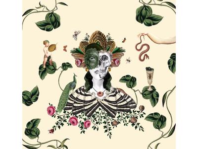 Collage illustration death art collageart graphicdesign packagedesign design illustration collage