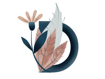 D lettering customletters alphabet illustration vector
