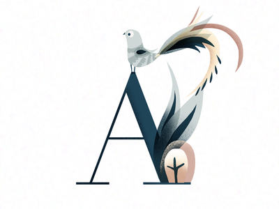 A letters lettering customlettters illustration alphabet