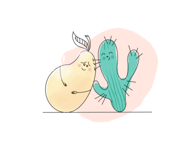 Friendship icons friendship digitalart relations flat cute ui illustration