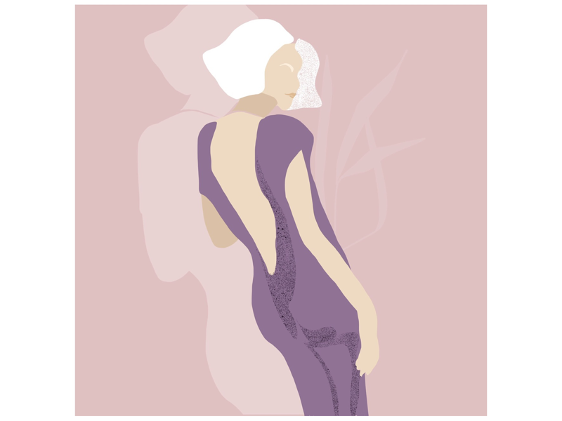Its party time holiday celebrity dresscode cocktails party drawings minimalism simple flat digitalart illustration