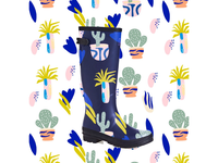 Rubber boots design