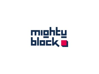 Mighty Block logo design