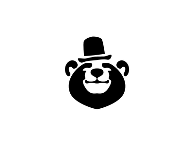 The Bear | Logo Design hat bear minimal modern logo logo icon logo design identity branding adobe illustrator