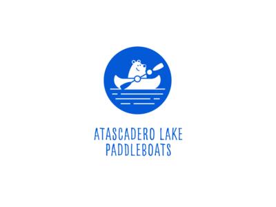Atascadero Lake Paddleboats | Logo Design