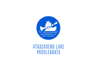 Atascadero Lake Paddleboats   Logo Design