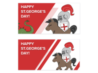 Happy St. George's Day Post for Pisano