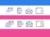 Channels Icon Design Examples