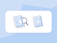 Select from Built-in Widgets & Create from Scratch Icon Sketches