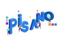Pisano Letters Illustration