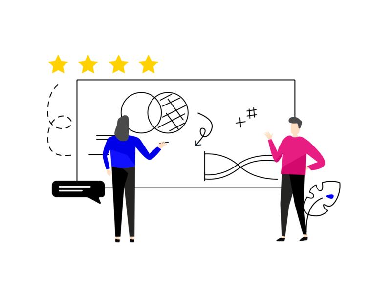 Customer Experience Team Illustration experience customer experience customer support customers customerexperience team branding journey feedback illustration character customer