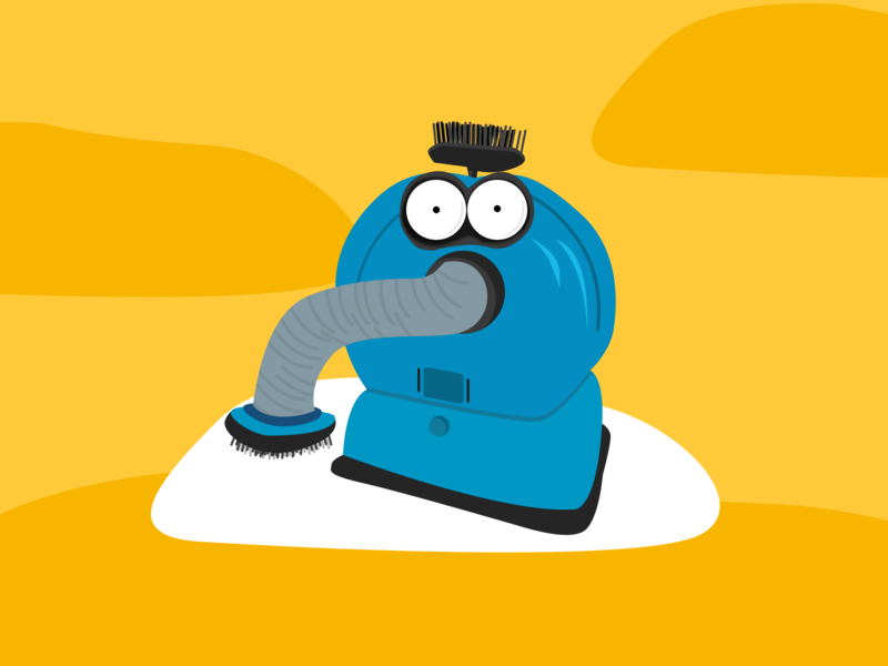 Teletubbies Vacuum Illustration cartoon illustration cartoon children cleaner vacuum cleaner ilustration telephone vacuum television teletubbies