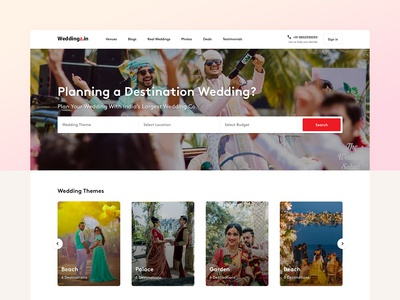 Landing Page - Weddingz (OYO)