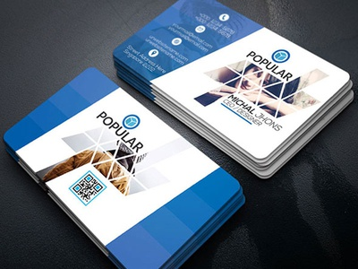 Creative Business Card graphic flyer designer creative business card both side design blue black all 3.5x2 business cards