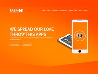 tabrin apps landing page