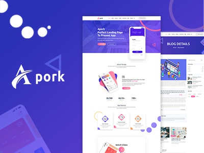 Apork Product Landing Page