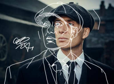 Tomas Shelby portrait- Peaky Blinders