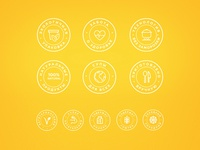 Icons for Gusto Soup